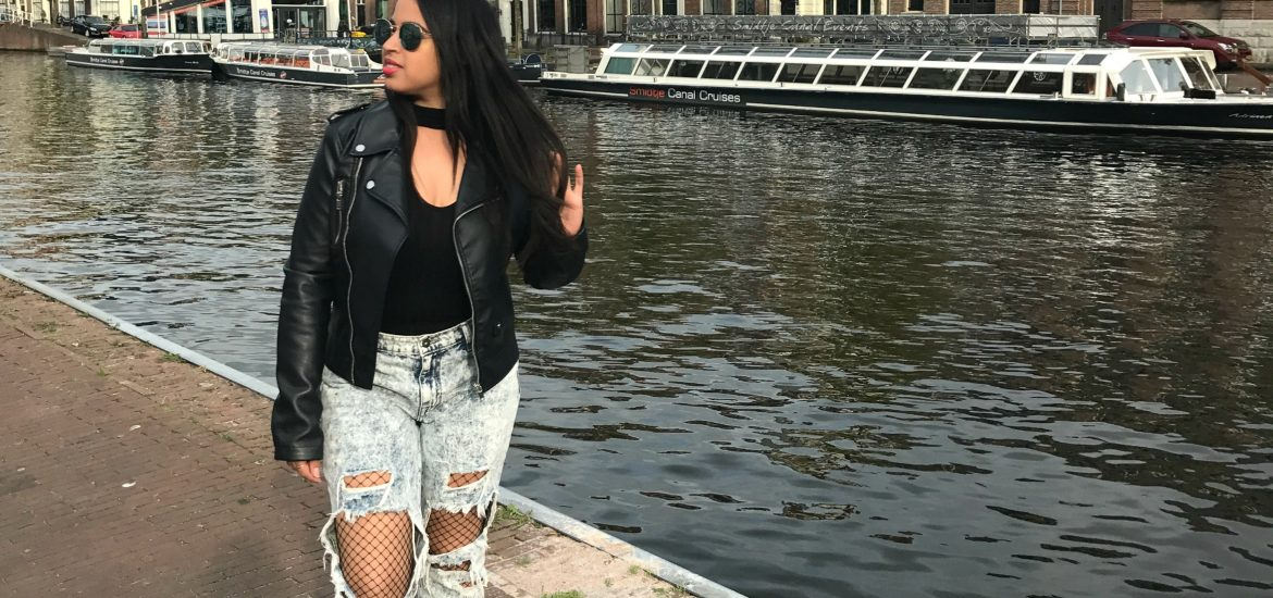 fishnet tights outfit haarlem